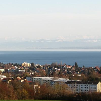 Blick über den Bodensee © reinhold@wentsch.com | bodensee.photography