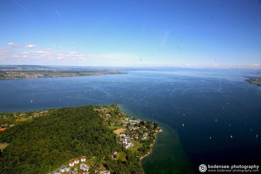 Luftbildfotografie in Konstanz am Bodensee mit Helikopter von Bodensee-Luftbild.com