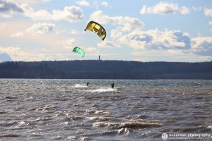 Kitesurfen am Bodensee by bodensee.photography